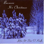 Because It's Christmas CD shot