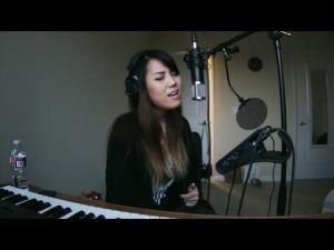 Girl Recording Session 1