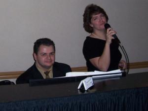 John & Sue Sofitel in Rosemont 09'